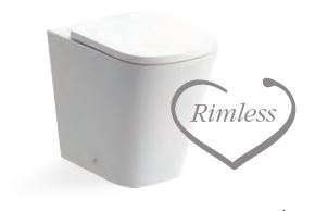 Tilia BACK TO WALL RIMLESS WC