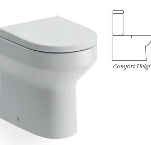 Laurus2 BACK TO WALL WC COMFORT HEIGHT