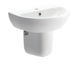 Tuscany BASIN WITH SEMI PEDESTAL