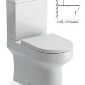 Laurus2 CLOSE COUPLED WC FULLY SHROUDED
