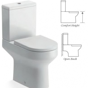 Laurus2 CLOSED COUPLED WC COMFORT HEIGHT