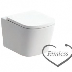 Tilia WALL HUNG WC RIMLESS
