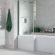 SOLARNA L SHAPE SHOWER BATH