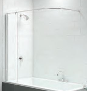 CURTAIN RAIL BATH SCREEN