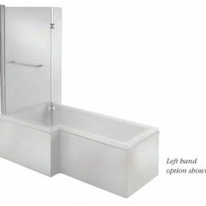 L Shaped bath panel