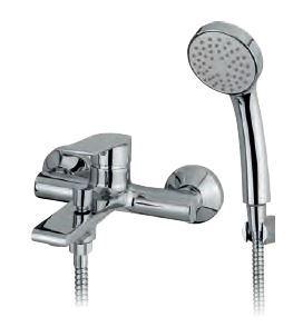B WALL MOUNTED BATHSHOWER MIXER