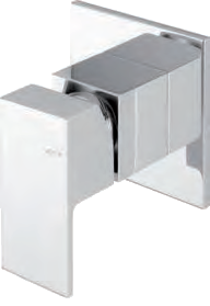 TAMESIS BUILT IN SHOWER MIXER SINGLE OUTLET