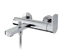 V WALL MOUNTED BATHSHOWER MIXER